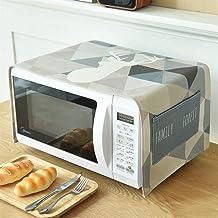 HHYK Ropa de algodón Horno de microondas Cubierta de Polvo Accesorios Cocina de la Cocina de microondas hogar a Prueba de Agua Horno Cubierta (Color : Blue Deer)