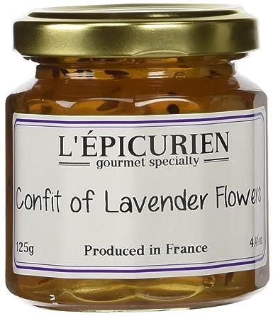 L'Epicurien Confit of Lavender Flowers 4.4 oz.