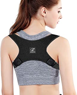 Posture Corrector For Men And Women - Back Brace For Upper Back Pain Relief - Best Fully Adjustable Support Brace