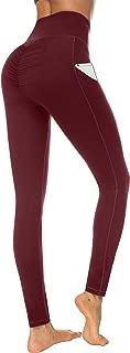 High Waist Yoga Pants, Pocket Yoga Pants Tummy Control...