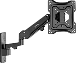 VIVO Premium Aluminum Single TV Wall Mount for 23 to 43 inch Screens, Adjustable Arm, Fits up to VESA 200x200 (MOUNT-G200B)