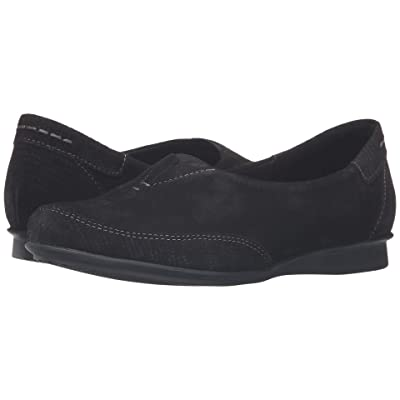 Taos Footwear Marvey (Black Suede) Women