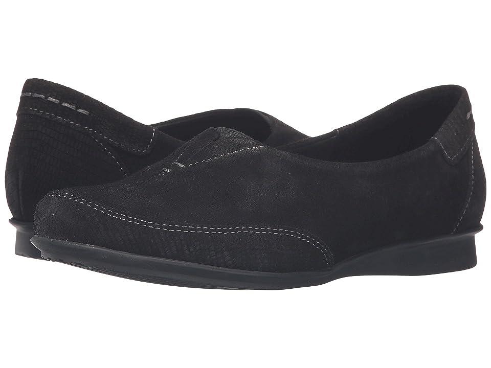 Taos Footwear Marvey (Black Suede) Women
