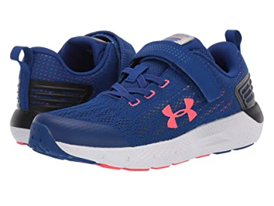 Under Armour Kids UA BPS Rogue AC (Little Kid) (Royal/White/Beta Red) Boys Shoes