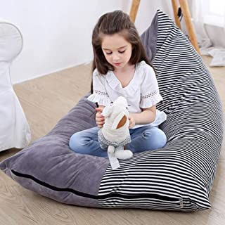 KOLACEN Animal en Peluche Jouet De Stockage Sacs De Haricots Doux Pliable Chaise Canapé Housse de Siège pour Enfants Enfan...