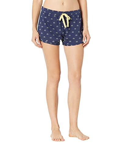 Southern Tide Skipjack Printed Lounge Shorts (Nautical Navy) Women