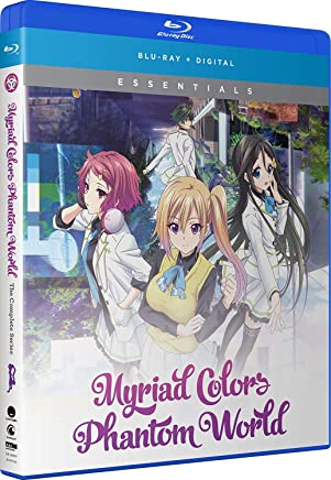 Myriad Colors Phantom World Essentials Blu-Ray(無彩限のファントム・ワールド 全13話+OVA)