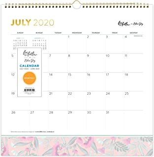 """Fox & Fallow for Blue Sky 2020-2021 Academic Year Monthly Wall Calendar, Twin-Wire Binding, 12"""" x 12"""", Gumnut Blossoms"""