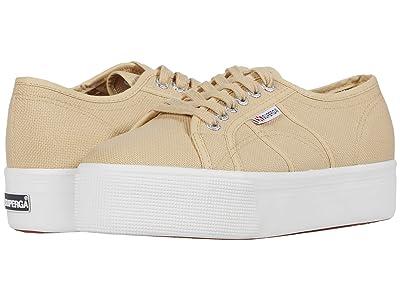Superga 2790 Acotw Platform Sneaker (Beige) Women