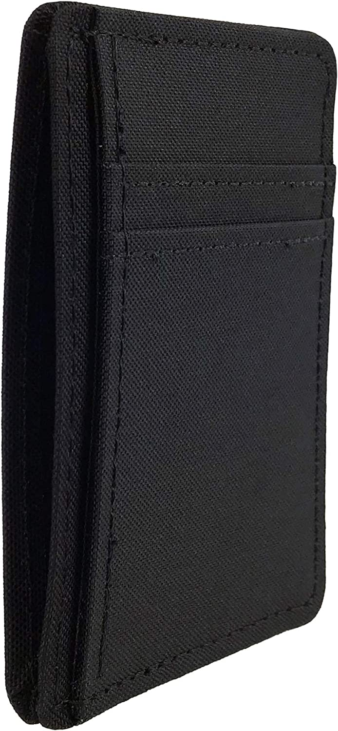 Vegan Front Pocket Card Holder Wallet Made in USA by Hold Supply Co.