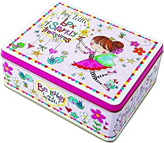 Rachel Ellen My Little Box Of Sparkly Treasures - Caja de lata