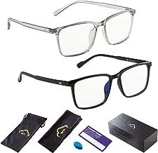 Blue Light Blocking Glasses PC Computer TV Game Gaming Reading Phone UV400