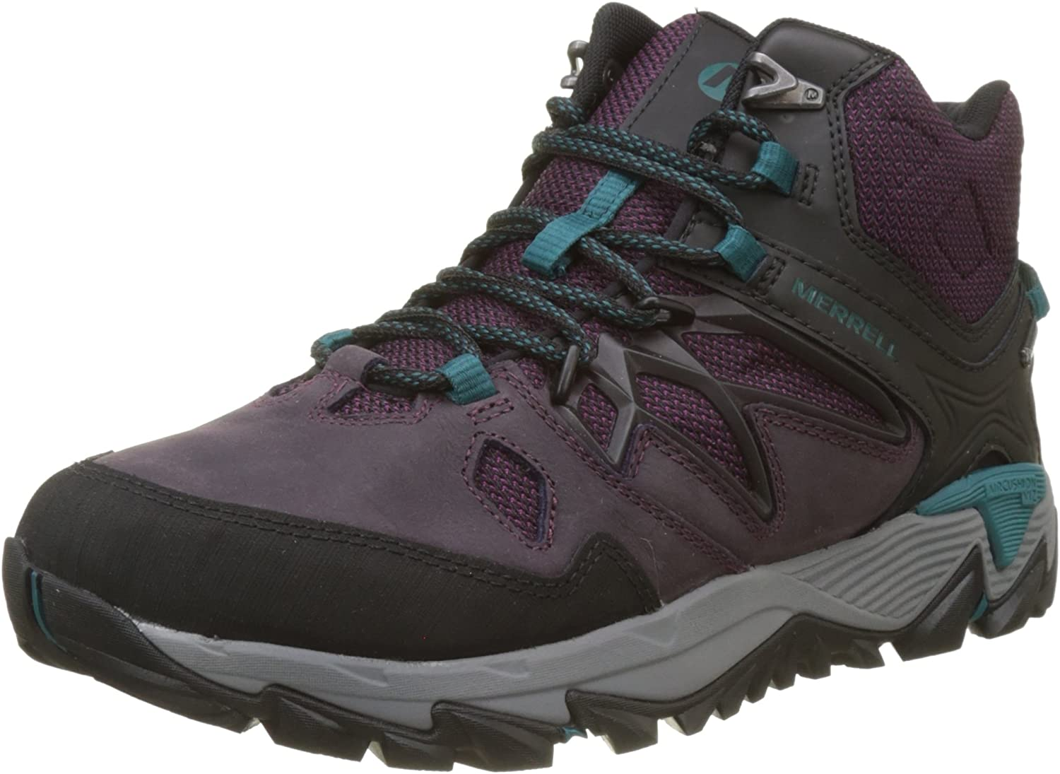 MERRELL Womens All Out Blaze 2 MID GTX Boots Berry (UK8   EU42   US10.5 Gore-TEX)