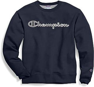 Champion mens Graphic Powerblend Fleece Crew Sweatshirt