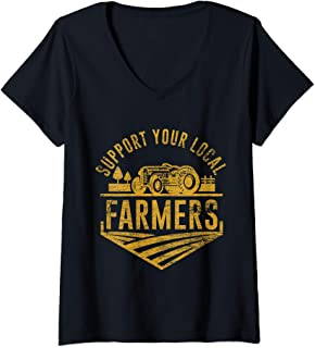 support local farmers t shirts