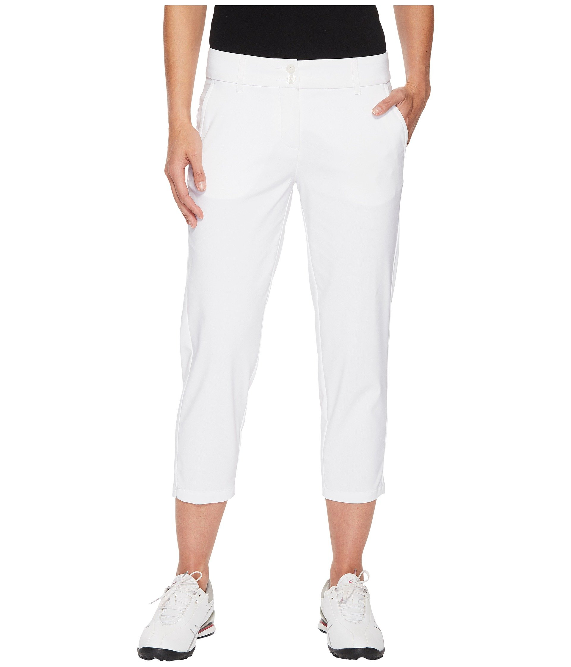 High Side Crop Skechers Pant White OpdSvBwBq