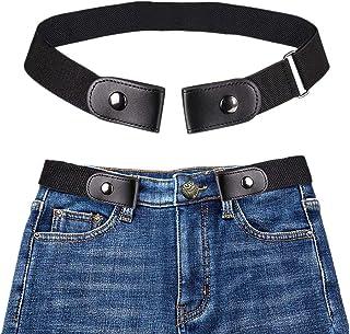Coomir Cintur/ón el/ástico sin Hebilla Sin Hebilla Cintur/ón el/ástico para Pantalones Jean Vestidos