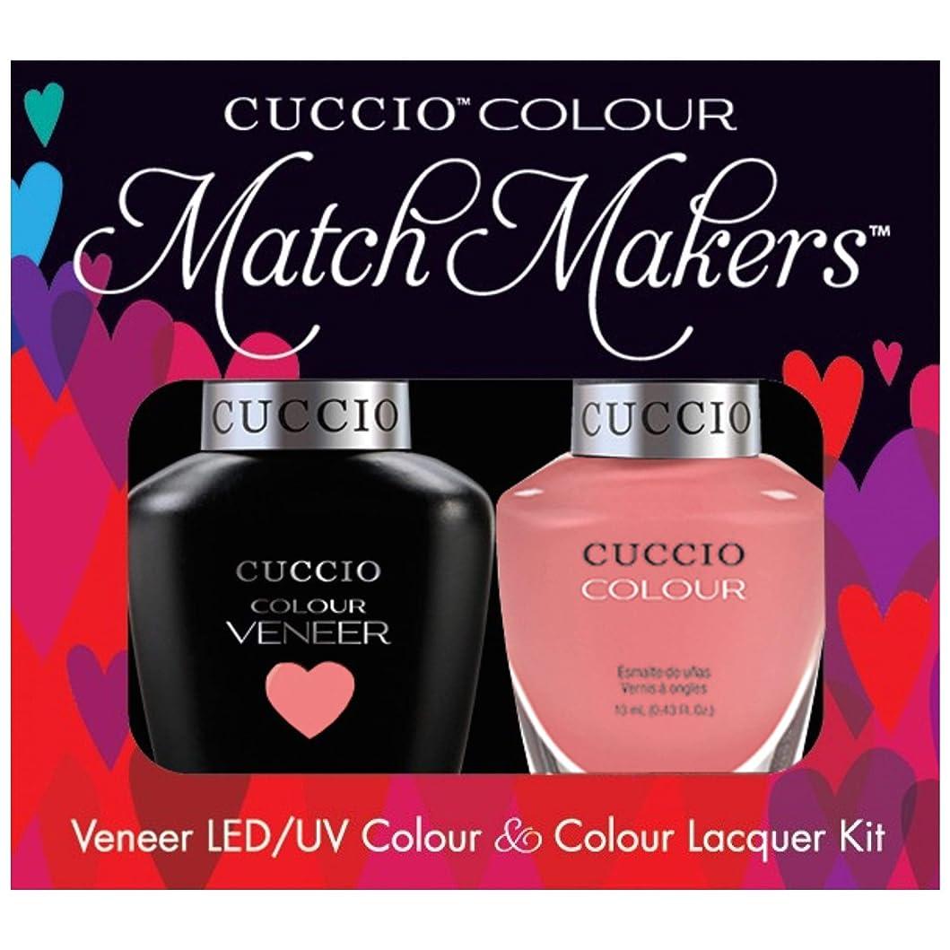 カプラー雪共和党Cuccio MatchMakers Veneer & Lacquer - All Decked Out - 0.43oz / 13ml Each