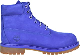 6 Inch Premium Waterproof Big Kids Blue Boots tb0a1p6h