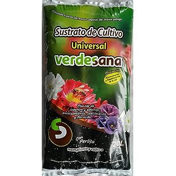VERDESANA Sustrato de Cultivo Universal 20 litros: Amazon.es: Jardín