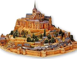 ペーパークラフト 建築物 モンサンミッシェル 世界遺産 アート キット セット レプリカ (35cm)