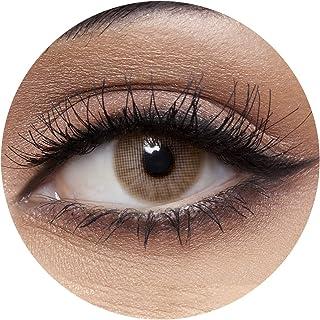 Anesthesia Addict Oro Unisex Contact Lenses, Anesthesia Cosmetic Contact Lenses, 6 Months Disposable - Addict Oro (Light H...