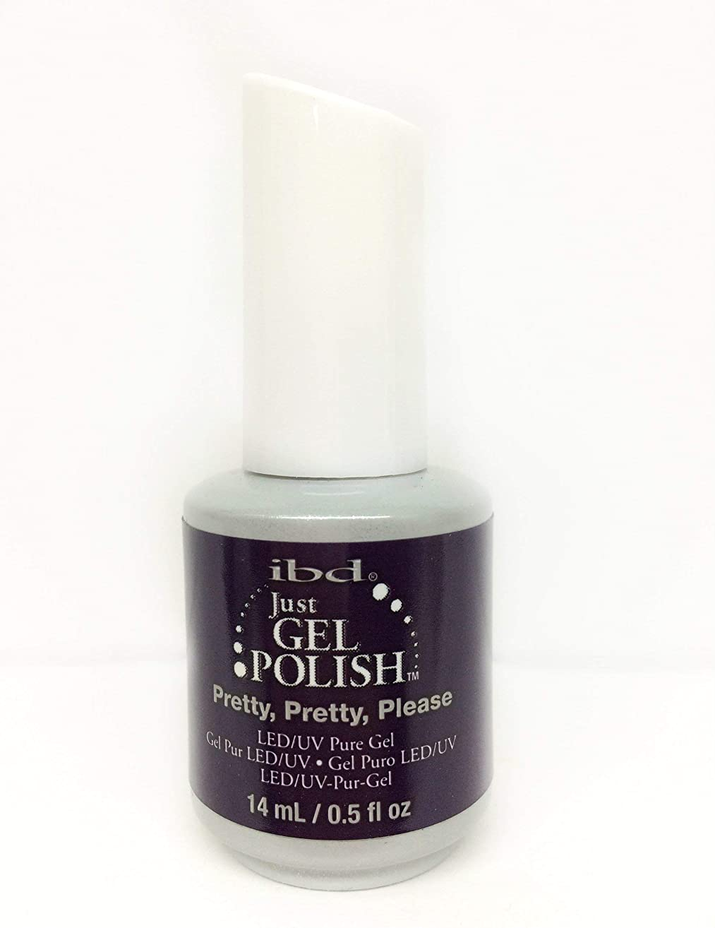 縁セラフ春ibd Just Gel Nail Polish - Pretty, Pretty, Please - 14ml / 0.5oz