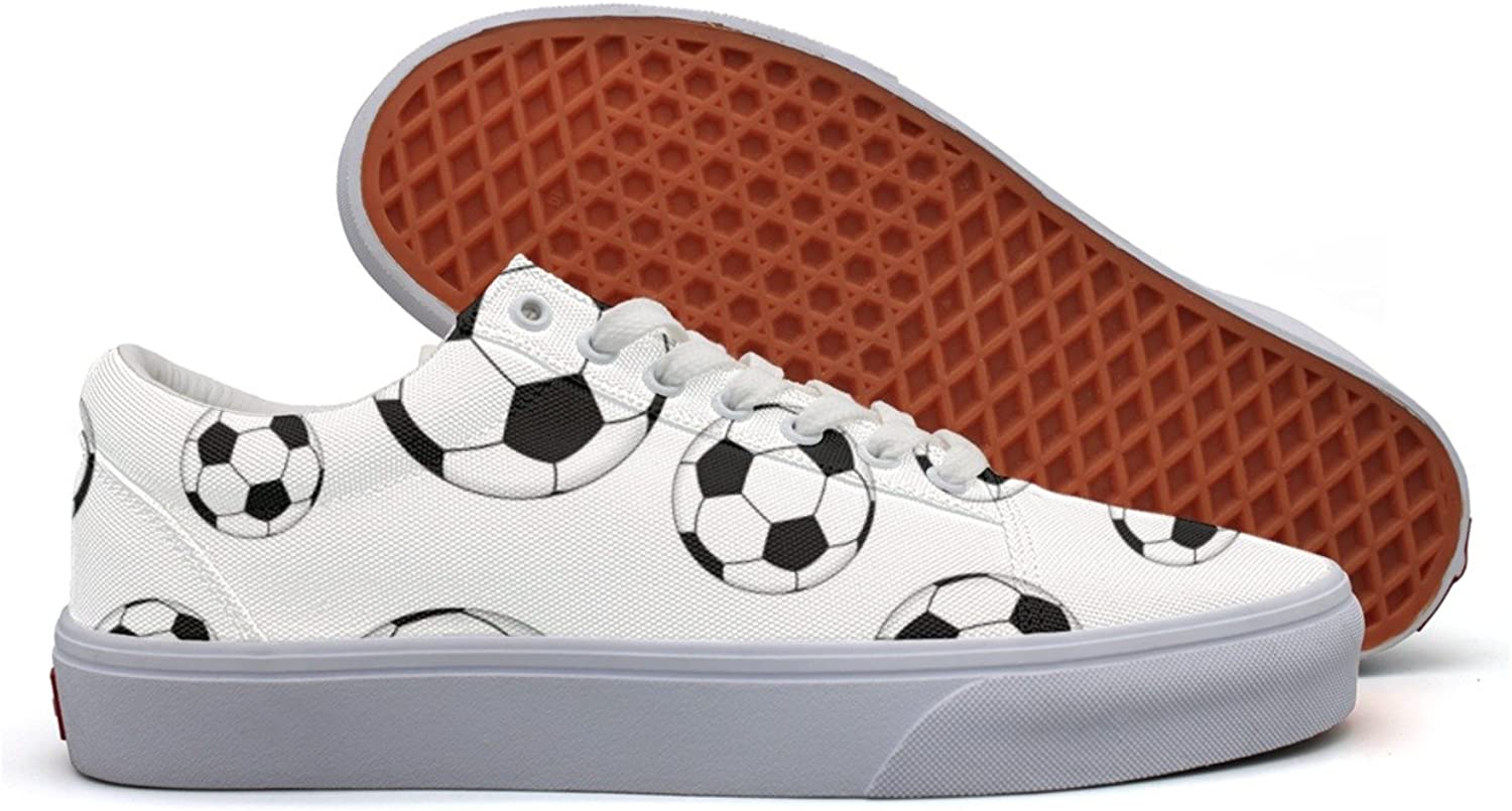 Womens Football Soccer Fashion Plimsolls