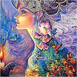 MYSNKU 5D DIY Diamond Painting Kits Full Drill Diamond Embroidery for Adults and Children,Home Art Craft Wall Decor, Beaut...