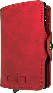 Porta Carte Di Credito Cash4next® Portafoglio Uomo E Donna Porta Documenti Idee Regalo Blocco RFID Anticlonazione Schermat...