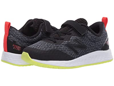 New Balance Kids Fresh Foam Arishi v3 Bungee (Infant/Toddler) (Black/Lemon Slush) Boys Shoes