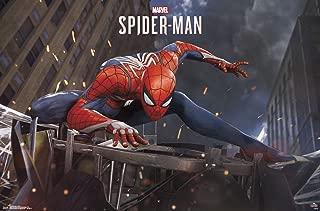 Trends International Marvel Comics - Spider-Man - Action Wall Poster, 22.375