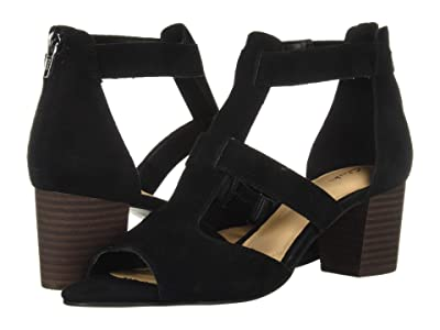 Clarks Deloria Fae (Black Suede) High Heels