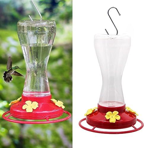 Twinkle-Star-Outdoor-Hummingbird-Feeder-with-4-Feeding-Ports