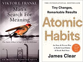 Man's Search For Meaning + Atomic Habits (Combo of 2 Books)