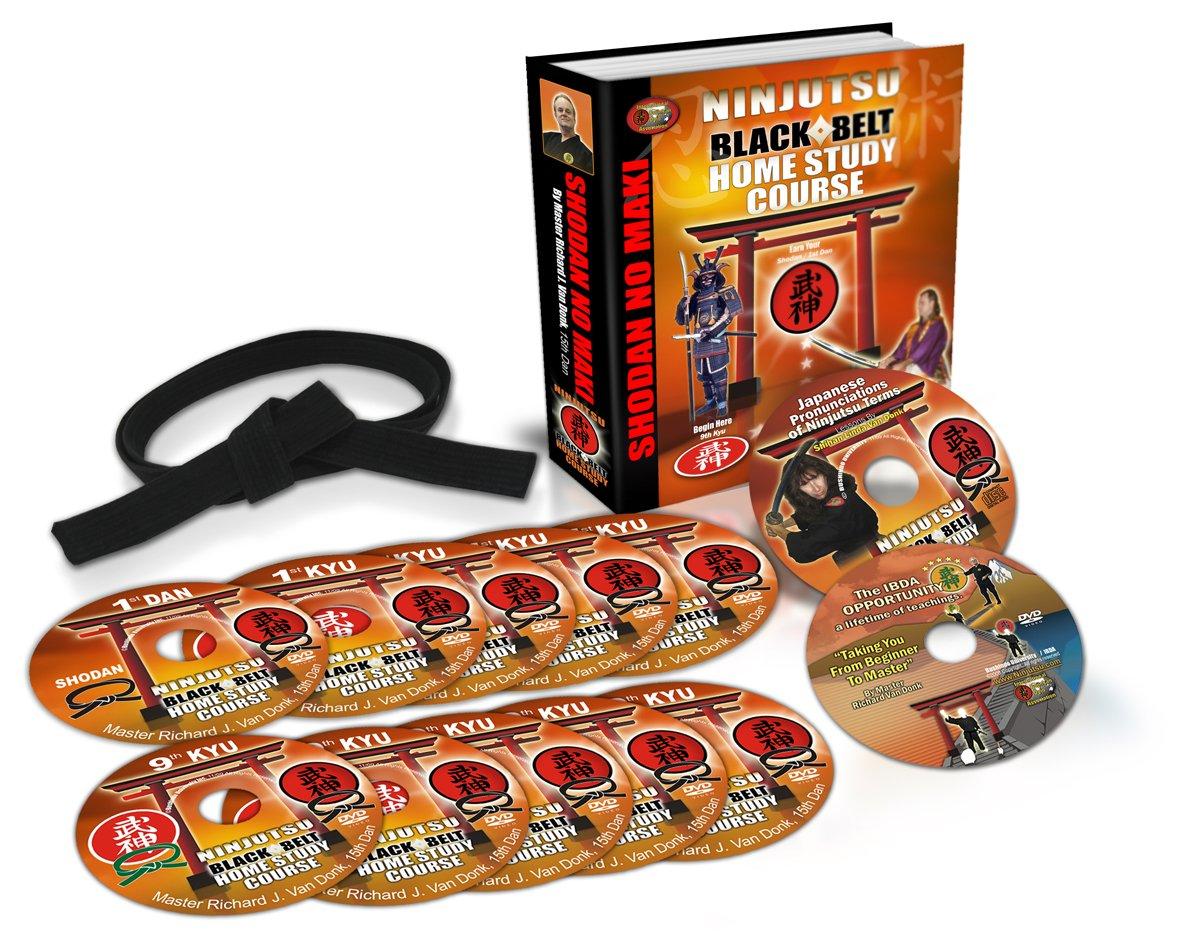 Ninjutsu Black Belt Home Study Course By Richard Van Donk