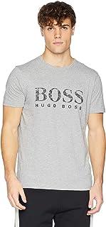 Hugo Boss Men's Tee 7 Boss Logo Print T-Shirt