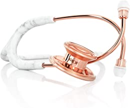 MDF® MD One® Marble Rose Gold Stethoscope - Limited Edition - Free-Parts-for-Life & Lifetime Warranty - Marble Rose Gold (MDF777-MBRG)