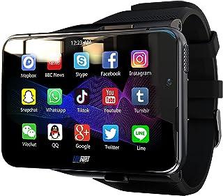 "4G/LTE Smart Watch Phone Android 9.0 Face Unclok 8-Core CPU 4GB+64GB 2.88"" HD Screen 13MP+5MP Dual Camera 2300Mah IP65 Wat..."