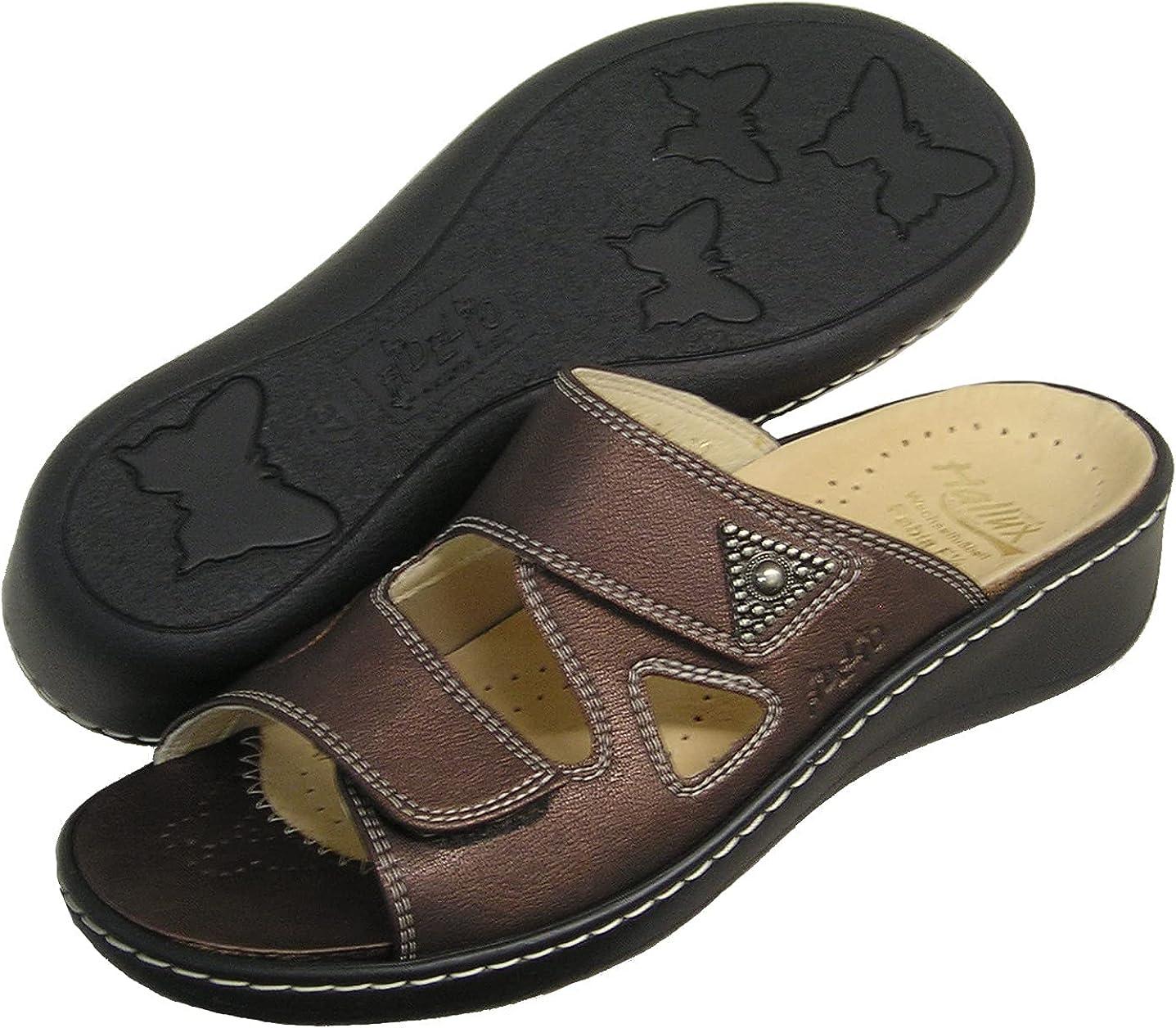 Fidelio Women's Hallux Fabia Bunion Relief Slide Sandal 33709 (Marrone)