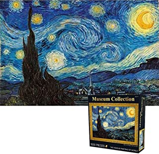 Bgraamiens Starry Night by Vincent Van Gogh Paper Puzzle 1000 Pieces