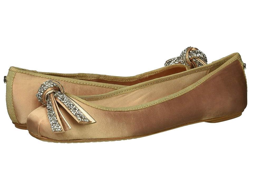 Kate Spade New York Freya Ballet Flat (Roasted Peanut Satin) Women