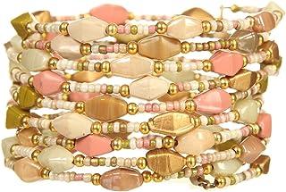 DCA Glass/Steel Multicolor Women Bangle/Bracelet (1118)
