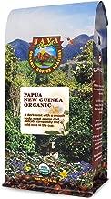Java Planet - Organic Coffee Beans- Papua New Guinea Single Origin - a Gourmet Dark Roast of Arabica Whole Bean Coffee USDA Certified Organic, Non-GMO and Shade Grown at High Altitudes - 1 LB bag