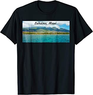 Maui Lover T-shirt Lahaina Coast