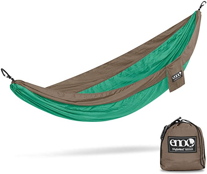 ENO, Eagles Nest Outfitters SingleNest Lightweight Camping Hammock - The Best Performance