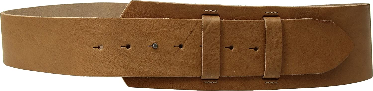 Amsterdam Heritage Leather Belt 80001 Wide Cinch Tan belt