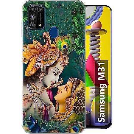 Fashionury Back Cover for Samsung Galaxy M31 (Silicone Multi-Coloured)