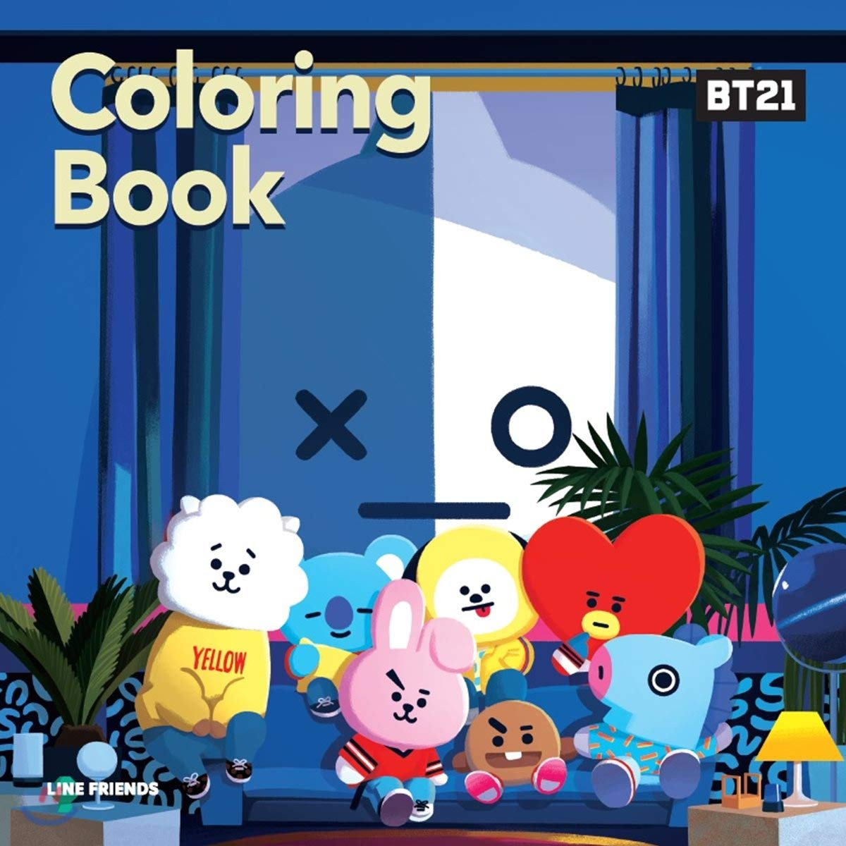 Bt21 Coloring Book Korean Edition Buy Online In Guernsey At Guernsey Desertcart Com Productid 132682605