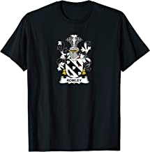Rowley Coat of Arms - Family Crest Shirt
